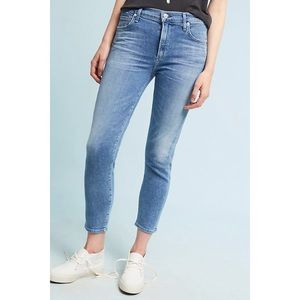 NWT citizens of humanity rocket cropped jeans